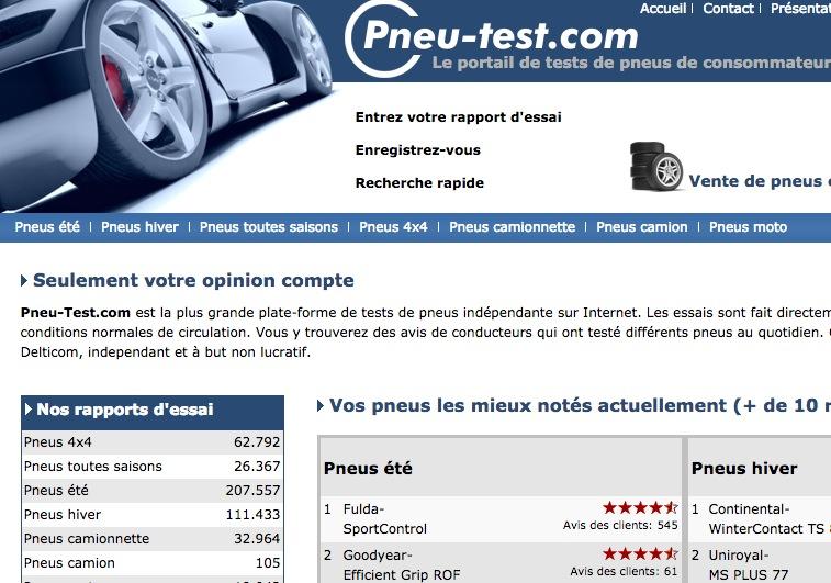 pneu test tests de pneus de consommateur consommateurs. Black Bedroom Furniture Sets. Home Design Ideas